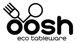 OOSH ECO TABLEWARE trademark