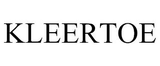 KLEERTOE trademark