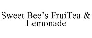 SWEET BEE'S FRUITEA & LEMONADE trademark