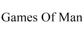 GAMES OF MAN trademark