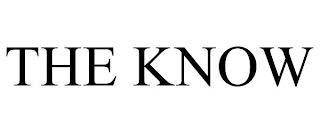 THE KNOW trademark