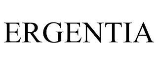 ERGENTIA trademark