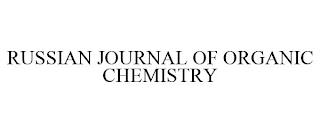 RUSSIAN JOURNAL OF ORGANIC CHEMISTRY trademark