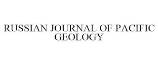 RUSSIAN JOURNAL OF PACIFIC GEOLOGY trademark