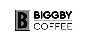 B BIGGBY COFFEE trademark