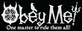 OBEY ME! ONE MASTER TO RULE THEM ALL! trademark