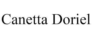 CANETTA DORIEL trademark