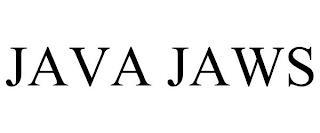 JAVA JAWS trademark
