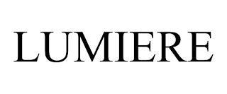 LUMIERE trademark