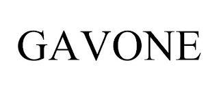 GAVONE trademark