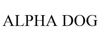 ALPHA DOG trademark