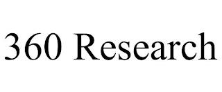 360 RESEARCH trademark