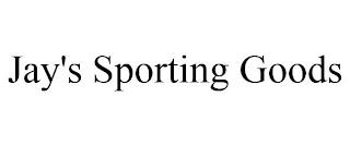 JAY'S SPORTING GOODS trademark