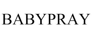 BABYPRAY trademark