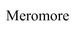 MEROMORE trademark