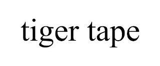 TIGER TAPE trademark