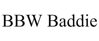BBW BADDIE trademark