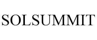 SOLSUMMIT trademark