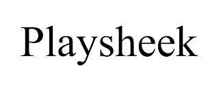 PLAYSHEEK trademark