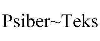 PSIBER~TEKS trademark