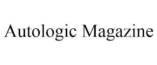 AUTOLOGIC MAGAZINE trademark