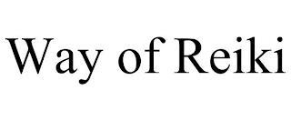 WAY OF REIKI trademark