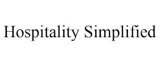 HOSPITALITY SIMPLIFIED trademark
