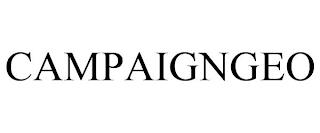 CAMPAIGNGEO trademark