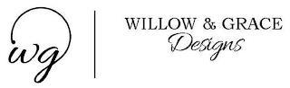 WG WILLOW & GRACE DESIGNS trademark