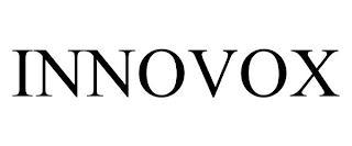 INNOVOX trademark