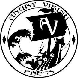 AV ANGRY VIKING PRESS trademark