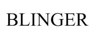 BLINGER trademark