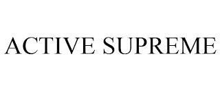 ACTIVE SUPREME trademark