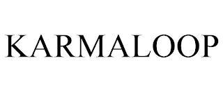 KARMALOOP trademark