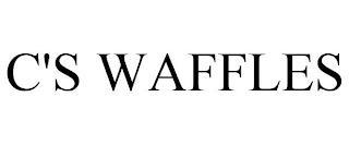 C'S WAFFLES trademark