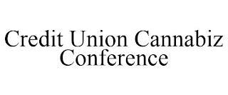 CREDIT UNION CANNABIZ CONFERENCE trademark