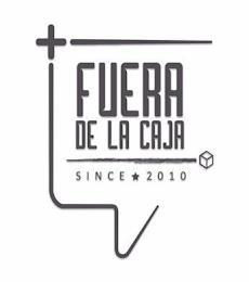 FUERA DE LA CAJA SINCE 2010 trademark