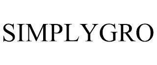 SIMPLYGRO trademark