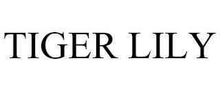TIGER LILY trademark