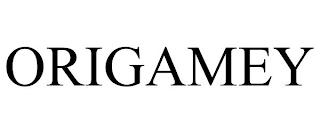 ORIGAMEY trademark
