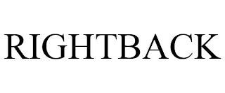 RIGHTBACK trademark
