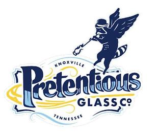 PRETENTIOUS GLASS CO. KNOXVILLE TENNESSEE trademark