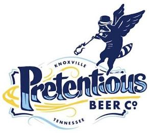 PRETENTIOUS BEER CO. KNOXVILLE TENNESSEE trademark