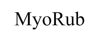 MYORUB trademark