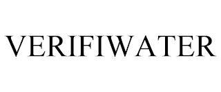 VERIFIWATER trademark