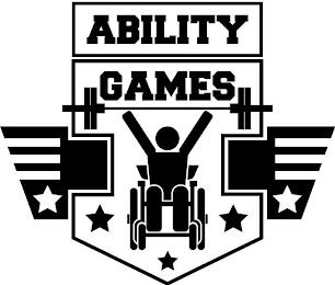 ABILITY GAMES trademark