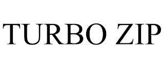 TURBO ZIP trademark