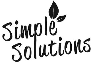 SIMPLE SOLUTIONS trademark