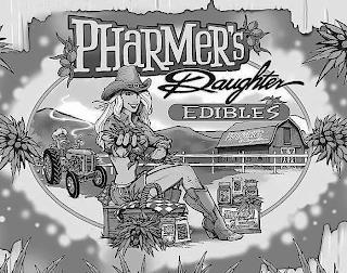 PHARMER'S DAUGHTER EDIBLES PHARMER'S DAUGHTER ALMOND BUTTER PHARMER'S DAUGHTER EDIBLES trademark