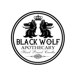 BLACK WOLF APOTHECARY HAND POURED CANDLES trademark